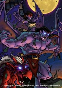 In 1994, Gargoyles was one of the biggest Disney cartoon shows ever produced with a fan base to rival most other fantasy/ sci fi shows.  Disney released a few episodes on VHS back in the 90′s and then started releasing the full show in 2005, stopping at the first half of the second season.   The second half of season two and The Goliath Chronicles, known by some simply as season three, have yet to be released despite the great demand for this show.