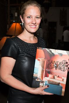 Courtney Genovese at The Well-Traveled Home by Sandra Espinet book signing at Berbere World Imports in Los Angeles, May 2014. #thewelltraveledhome #sandraespinet #interiordesign #berbereworldimports