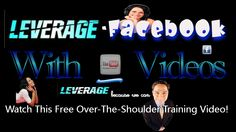 Leverage-Facebook Video-AutoClick - New Over-The-Shoulder Training Video - http://leverage-marketing.net/leverage-facebook-video-autoclick-new-over-the-shoulder-training-video.html/