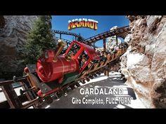 Mammut gardaland 2016 giro completo full turn mammut roller coaster 2016