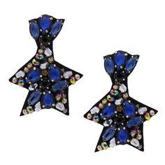 925 Silber Ohstecker Sterne star winter Sylvester Neujahr Weihnachten