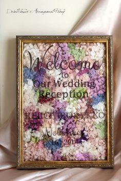 ウェルカムボード/L【オーダーメイド】 - ドライフラワーリース/プリザーブドフラワー/ウェルカムボード/ ウェルカムリース| Dried Flower Arrangement ''Peony'' ピオニー