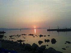 Greece, Celestial, Island, Sunset, Beach, Outdoor, Block Island, Sunsets, Outdoors