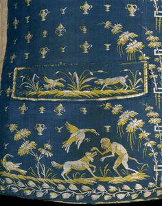1790s, France - Silk waistcoat