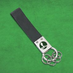 Liquidationprice.com - Leather Strap and Stainless Steel Key Holder, $0.75 (http://www.liquidationprice.com/leather-strap-and-stainless-steel-key-holder/)