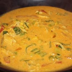 Kyllingsuppe Thai Red Curry, Tapas, Nom Nom, Bacon, Recipies, Food Porn, Food And Drink, Turkey, Favorite Recipes