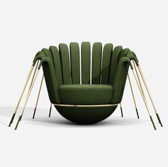 Weird Furniture, Unique Furniture, Furniture Design, Interior Decorating, Interior Design, Amazing Decor, Chair Design, Upholstery, Vintage