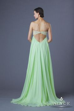 Alyce Prom Dress Style #6196 Full View  | Spring 2014
