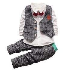 Children Clothing 2018 Autumn Winter Toddler Boys Clothes Set Casual Outfit Kids Clothes Sport Suit For Boys Clothing Set Toddler Boy Fashion, Little Boy Fashion, Toddler Boy Outfits, Toddler Boys, Kids Outfits, Casual Outfits, Baby Boys, Babies Fashion, Kids Boys