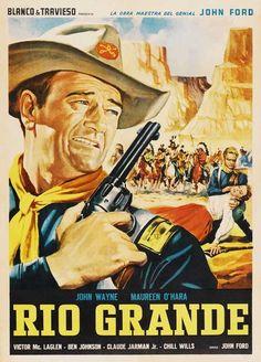 Rio Grande (Mexican) 11x17 Movie Poster (1950)