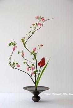 Style Shoka Shimputai - Art floral Ikebana