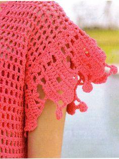 los colores shocking son un must en esta temporada de verano. muy facil de hacer, este diseño es para talle 2           ...