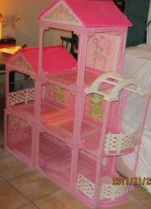 Barbie Double Pink 'n' Pretty House Dollhouse **