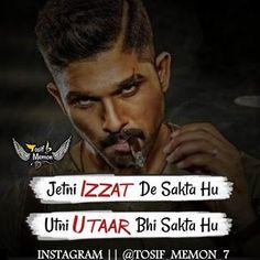Hindi Attitude Quotes, Attitude Quotes For Boys, Positive Attitude Quotes, True Feelings Quotes, Funny True Quotes, Reality Quotes, Hindi Quotes, Bad Words Quotes, Motivational Picture Quotes