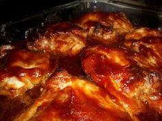 Oven Baked BBQ Chicken -- I cut the oregano in half but no other changes.  This turned out delicious, perfect recipe and really easy!