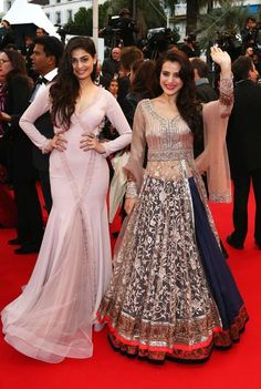 Ameesha Patel & Puja Gupta at the Cannes screening of 'All is Lost' | PINKVILLA