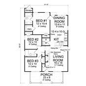 Dogwood Cottage   Design 24345   Cottage Home Plan   Design Basics