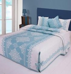 House Furniture Design, Home Design Decor, Home Furniture, Home Decor, Bedroom Bed Design, Bedroom Colors, Bedroom Decor, Designer Bed Sheets, Luxury Bed Sheets