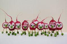 radish people #groente #radijs #kinderen
