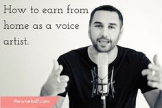 Have you ever wonder how fun it is to be a voice artist? Do you think you got what it takes to do voice overs? I believe that everybody has a talent Earn From Home, Work From Home Tips, Make Money From Home, Make Money Online, How To Make Money, Voice Acting, The Voice, Outsourcing Jobs, Hustle Money