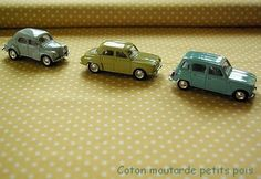 Vintage French cars