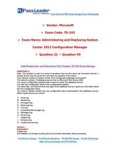 Ebook exam download 70-243