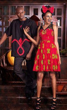 "Nigerian Design Label FinAfrik presents ""My Ethnic Valentine"" | Bella Naija"