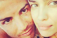 Cristiano Ronaldo à Mykonos avec Irina Shayk