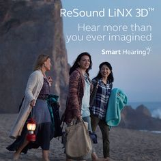 Smart Hearing will change the way you think about hearing aids. They adapt to you instead of making you adapt to them. http://linx3d.resound.com/en-au/