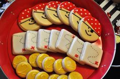 Pirate Sugar Cookies - Pirate, Coins and Maps
