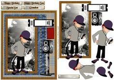 Teenage boy  on Craftsuprint - Add To Basket!