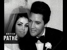 Elvis Presley (The King of Rock and Roll) marries Priscilla Beaulieu at the Aladdin Hotel in Las Vegas, Nevada on May Watch as Priscilla shows off h. Elvis Wedding, 1960s Wedding, Wedding Day, Vintage Weddings, Priscilla Presley Wedding, Elvis And Priscilla, Night Before Wedding, Elvis Presley Family, Marriage Certificate