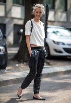 How to Look Wear Flats This Summer   StyleCaster