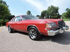 1979 Dodge Magnum XE, triple red w/Keystone Classics, 360 4bbl/727 Auto/8.75 axle