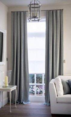 Living room modern classy curtains how to complete a room with elegant sheers making your home Family Room Curtains, Home Curtains, Curtains Living, Linen Curtains, Drapery, Family Rooms, Window Curtains, Curtains And Blinds Together, Bedroom Curtains With Blinds