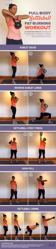 Fat Burning 21 Minutes a Day - Full-Body Kettlebell Fat-Burning Workout For #health, #recipes, #free challenge groups, go to my website or message me… www.Beachbodycoach.com/mrdunn24 www.facebook.com/... Using this 21-Minute Method, You CAN Eat Carbs, Enj https://www.kettlebellmaniac.com/kettlebell-exercises/