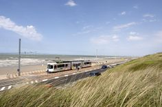 On my list: The Coast Tram (De Kusttram) is a public transport service connecting the cities and towns along the entire Belgian coast, between De Panne near the French border and Knokke-Heist.