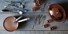 Vintage Copper + Utensils