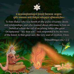 Today's Article : 'Śukabrahmarṣi' - Śrī-Śuka is the peerless seer who epitomizes the guru, glorified in the Bhāratīya tradition as the beacon of light that illuminates the path to liberation. Sanskrit Quotes, Sanskrit Mantra, Vedic Mantras, Durga Kavach, Krishna Hindu, Ancient Indian History, History Of India, Indian Culture And Tradition, Spiritual Psychology