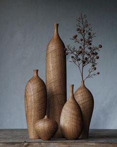 Lathe Projects, Wood Turning Projects, Wood Projects, Anthropologie Rug, Articles En Bois, Diy Resin Art, Wood Vase, Keramik Vase, Wooden Art