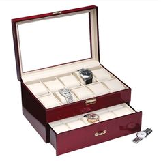 a92ac0dd0c3 (20) Wood watch box CBW230W Sale!  79.95 each  69.95 each Watch