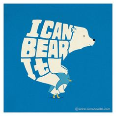 FFFFOUND! | I can Bear it! | Flickr – Condivisione di foto! - via http://bit.ly/epinner