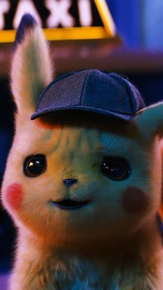 Detective Pikachu, Wallpaper – My Pin Page Cute Pokemon Wallpaper, Cute Disney Wallpaper, Cute Cartoon Wallpapers, Pikachu Drawing, Pikachu Art, Deadpool Pikachu, Pokemon Pictures, Cute Baby Animals, Cute Drawings