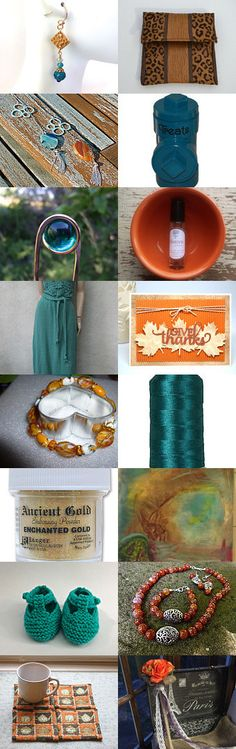Fall Palette by the Friends R Us Team by Paula O'Meara on Etsy--Pinned with TreasuryPin.com