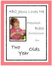 preschool bible curriculum...creation numbers