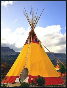 Native American Tipi, via Flickr.