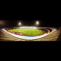 Millonarios FC //La bandera más grande.