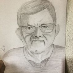 My father drawning