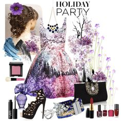 """Holidays In Purple"" by doralicia on Polyvore"