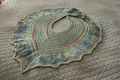 Ravelry: 3 Color Shawl pattern by Kathy millholland